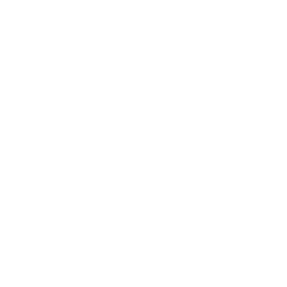 White low VOC icon of a tree