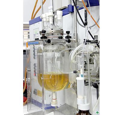Bioreactor in a laboratory