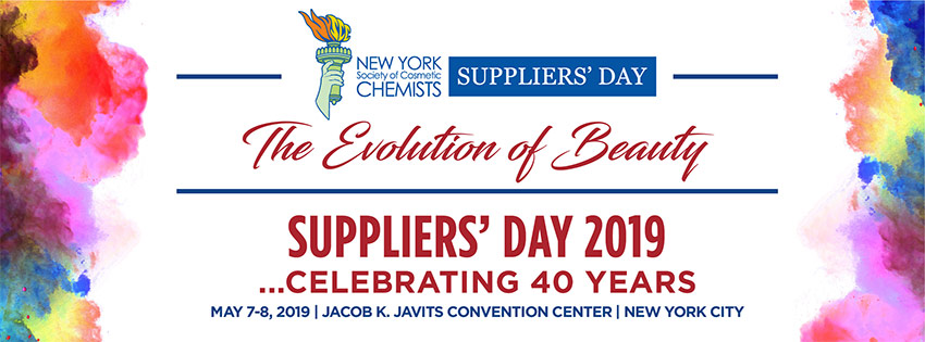 New York Society Of Cosmetic Chemists Suppliers Day Graphic